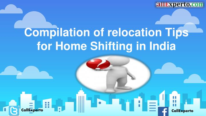 compilation of relocation tips for home shifting in india n.