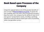 book based upon processes of the company