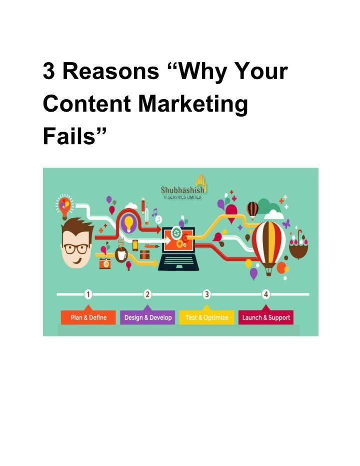 3 reasons why your content marketing fails n.