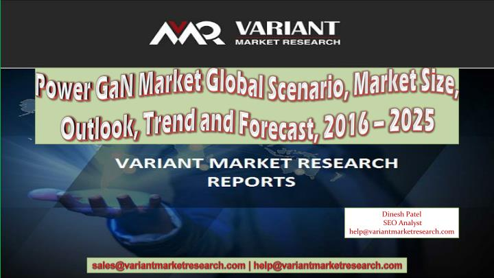 power gan market global scenario market size n.