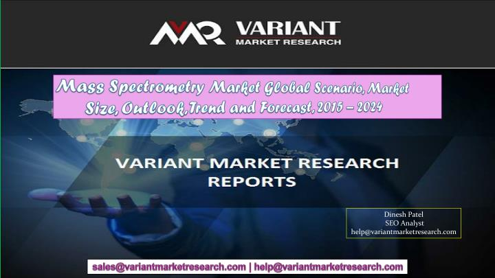 mass spectrometry market global scenario market n.