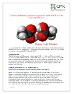 dimer acid market is projected to expand