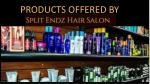 products offered by