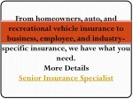 from homeowners auto and recreational vehicle