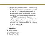 4 ledifos ledifos tablets contain a combination