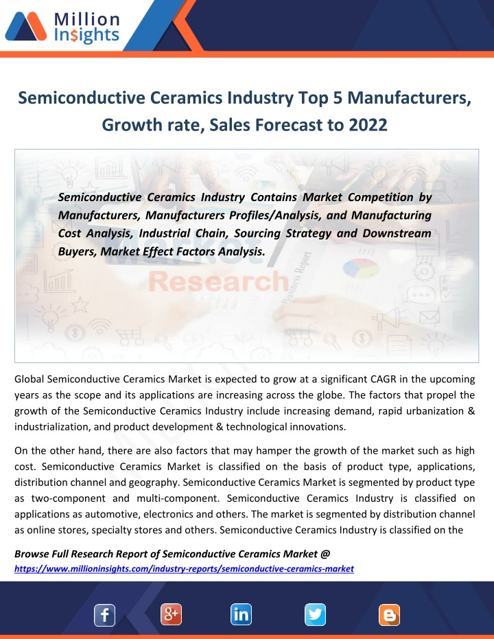semiconductive ceramics industry n.