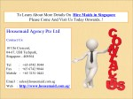 to learn about more details on hire maids
