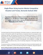 single phase string inverter market competitive