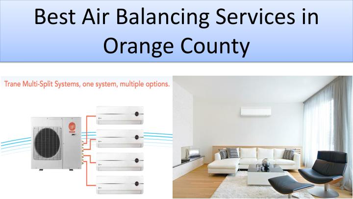 best air balancing services in orange county n.