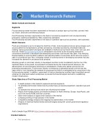 market outlook and analysis