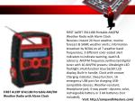 first alert sfa1180 portable am fm weather radio