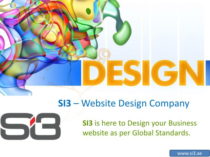 si3 website design company n.