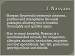 3 nasyam