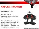 arborist harness