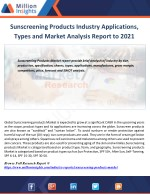 sunscreening products industry applications types