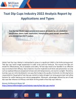 teat dip cups industry 2022 analysis report
