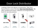 door lock distributor 1