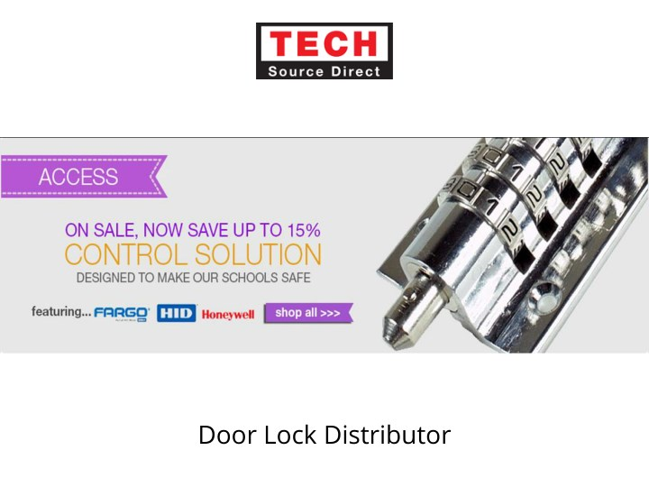 door lock distributor n.