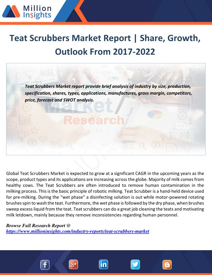 teat scrubbers market report share growth outlook n.