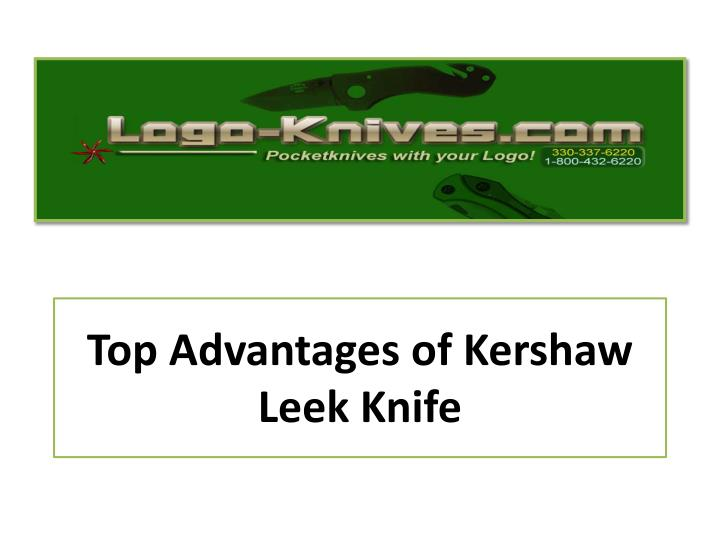 top advantages of kershaw leek knife n.