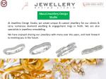 about jewellery design studio