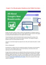 google s new breadcrumbs readdresses the mobile