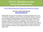 cis 512 education on your terms tutorialrank com 15