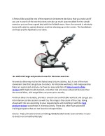 a fitness bike would be one of the expensive
