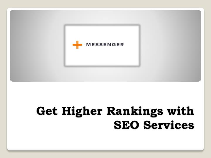 get higher rankings with seo services n.