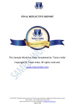 final reflective report