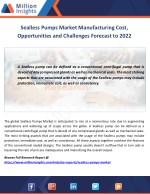 sealless pumps market manufacturing cost