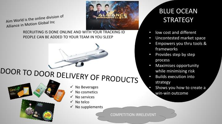 blue ocean strategy low cost and different n.
