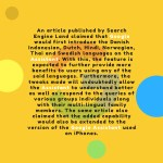 an article published by search engine land