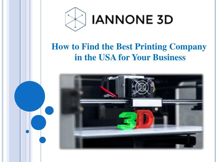 how to find the best printing company n.