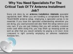 why you need specialists for the critical task