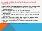 solution 2 look for all nearby wireless networks