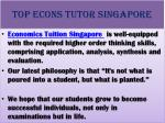 top econs tutor singapore