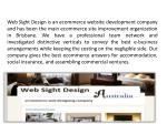 web sight design is an ecommerce website