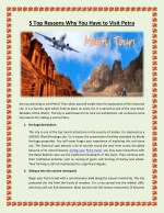 5 top reasons why you have to visit petra