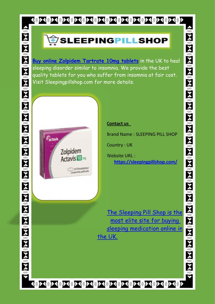 buy online zolpidem tartrate 10mg tablets n.