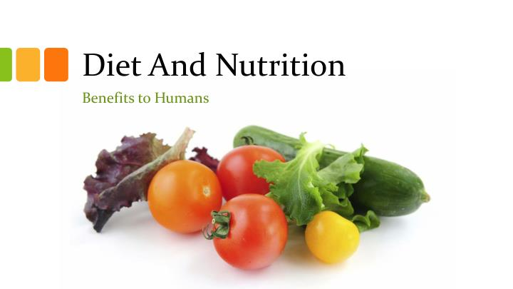 diet and nutrition n.