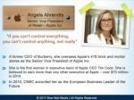 angela ahrendts senior vice president of retail