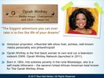 oprah winfrey media mogul chairperson