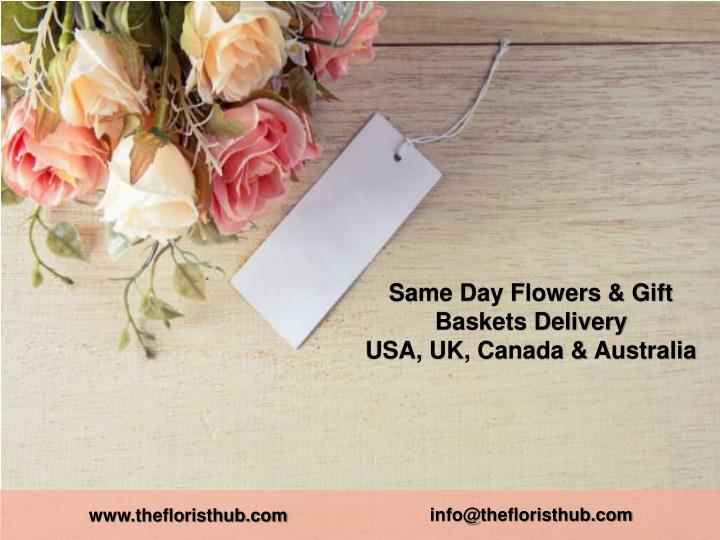 same day flowers gift baskets delivery n.