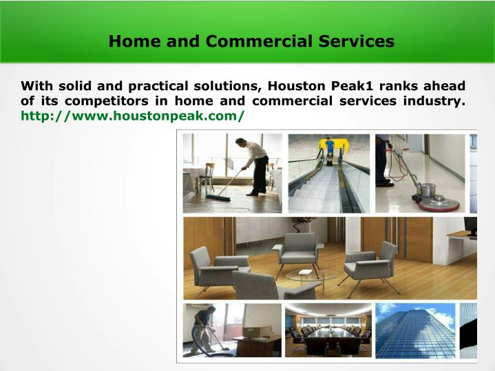 home and commercial services n.