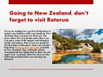 going to new zealand don t forget to visit rotorua