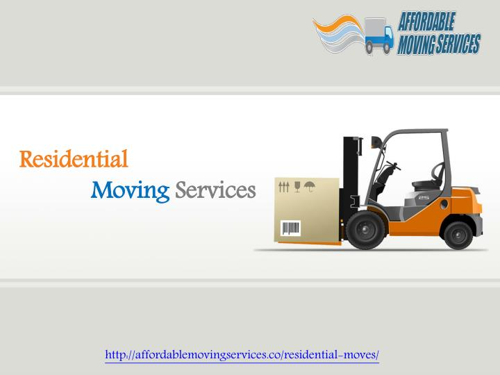 residential moving services n.