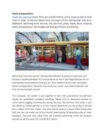 public transportation travel like a german alone