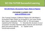 sci 256 tutor successful learning 11