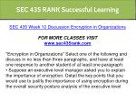 sec 435 rank successful learning 16